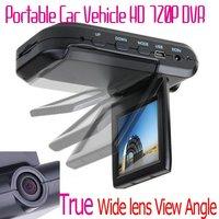 2.5'' Car Video Recorder HD Mini DVR AVI 1280*720 Free shipping Multiple Languages