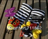 Детская погремушка 20pcs /lot christmas gift baby wrist rattle foot finder, baby toy wrist rattle+foot socks