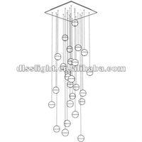 Люстры DLSS освещения 2815/26