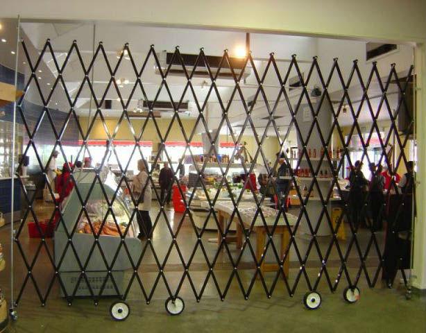 OEM Aluminium Fence Model