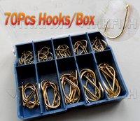Крючок для рыбалки Lh Hotselling! 700Pcs #3 12 Fishhooks 3-12%