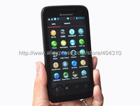 Free shipping MTK6577 phone Lenovo A789 dual core 1GHZ CPU Android 4.0 smart phone Russian menu in stock black red stock
