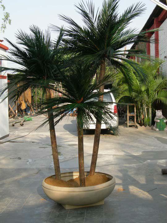 Nuez de Areca en conserva palmeras-Flores y guirnaldas decorativas ...