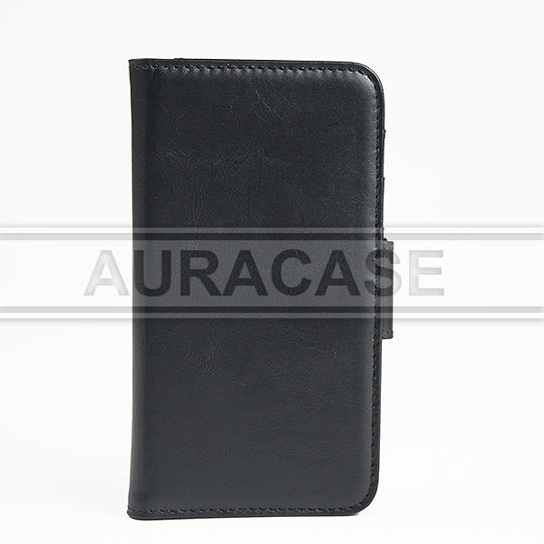 Newest Genuine leather case for Samsung Galaxy S5