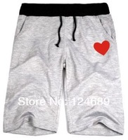 Женские шорты Chinese size 2XS-4XL unisex sports short trousers cdg shorts heart print shorts casual shorts plus size 8 Color