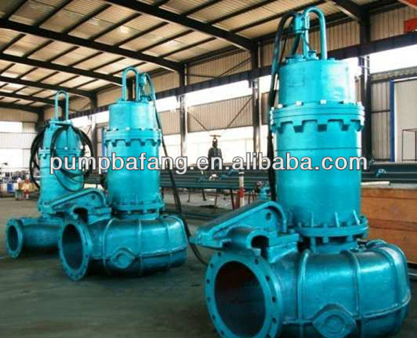 Non-clogging Centrifugal Submersible Water Pump