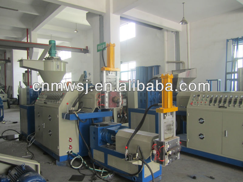 Waste PP/PE Plastic Film Recycling Machine