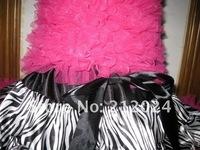 Hotsale,factory outlets,smooth cloth+fashion zebra+good packaging,girls fashion pettiskirts,babys dress
