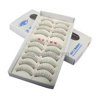 Накладные ресницы e#a1 Natural Long 10 Pairs Thin Fake False Eyelashes Eye Lash Clear Makeup Tool
