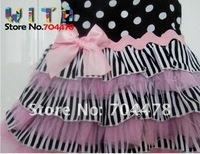 Платье для девочек hot selling 3pcs/lot baby girl flower dress, baby cake dress for summer #534