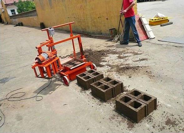 Mécanique presse pour briques QMJ2-45 bloc faisant la machine fabriqué en chine