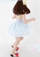 Платье для девочек 2013 Summer Girls One-Piece Dress Dream of bud silk skirt Gown girls' skirt, 2 colors available