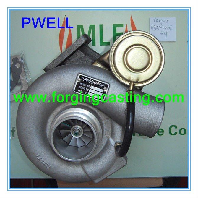 Turbocharger Genuine FUSO 6D14T 6D15T 49187-00211 ME073082 TD07-5
