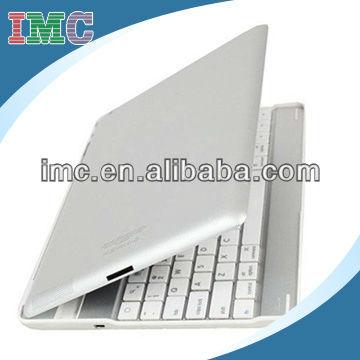 Newest utrathin design aluminium bluetooth wireless keyboard for New iPad 4th 3 2 Gen-IMC-PJIPA-0897