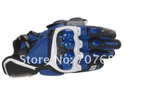 Free Shipping Worldwide STars S1 Motorcycle leather gloves black GENUINE gloves