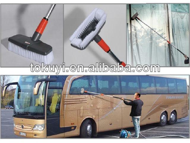 car bus wash brush long handle window glass cleaning brush. Black Bedroom Furniture Sets. Home Design Ideas