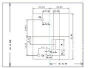 Замки, Затворы, Фиксаторы small cabinet lock - JS-L2010