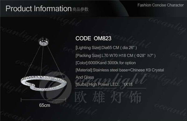 OM823 LED Ring Light White Light