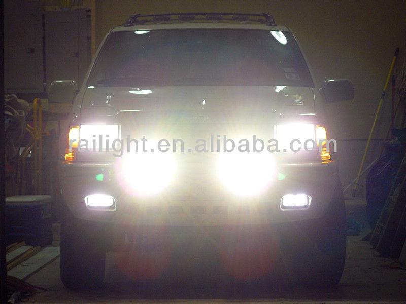 bmw auto accessories, 55w auto led work light waterproof ip68 RGD1030 bmw auto accessories