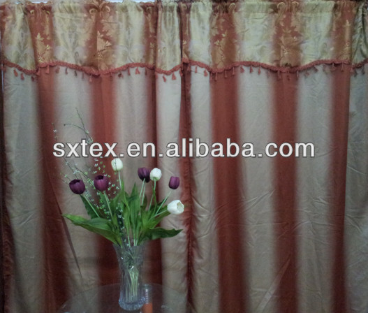 Luxury Hotel Blackout Design Curtain Jacquard Curtain New Design For Living Room