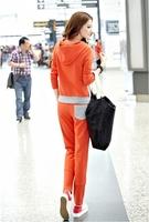 lady brand active spring clothes long sleeve coat+pants 2pcs sets lady casual sports sweatshirt women sports clothing  set bw004