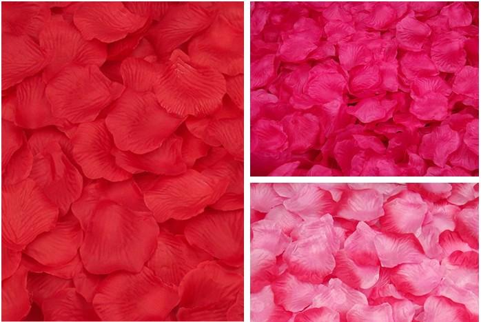 source silk rose petals for any wedding celebration