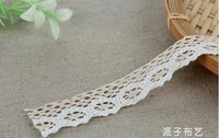 Wholesale handmade diy fabric lace ribbon decoration accessories clothes,mixed 10colors,Free shipping