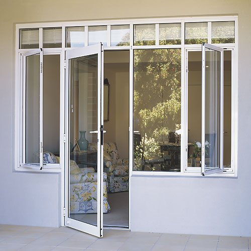 Double panels aluminum entry storm door insulation glass for Double storm doors for french doors