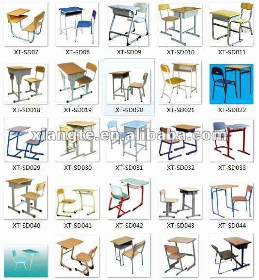 attractive design school furniture conjoint simple style single