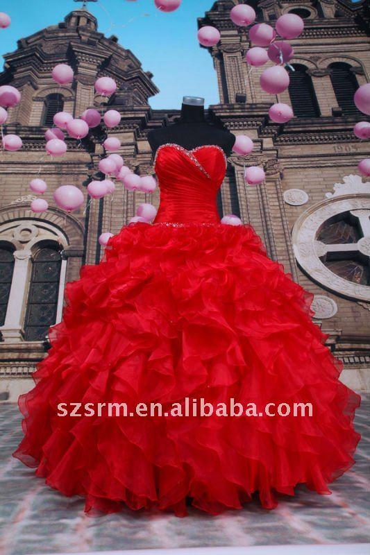 Go Back > Gallery For > Vestidos De 15 Aos 2013 Rojos