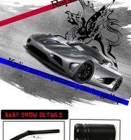 "5 ""Type-R черного семи цветов калибровочных тахометр со сдвигом света"