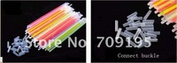 Free shipping-wholesale 2012 new auth 100pcs/lot fashion women and men love party fashion bracelets/ glow-sticks