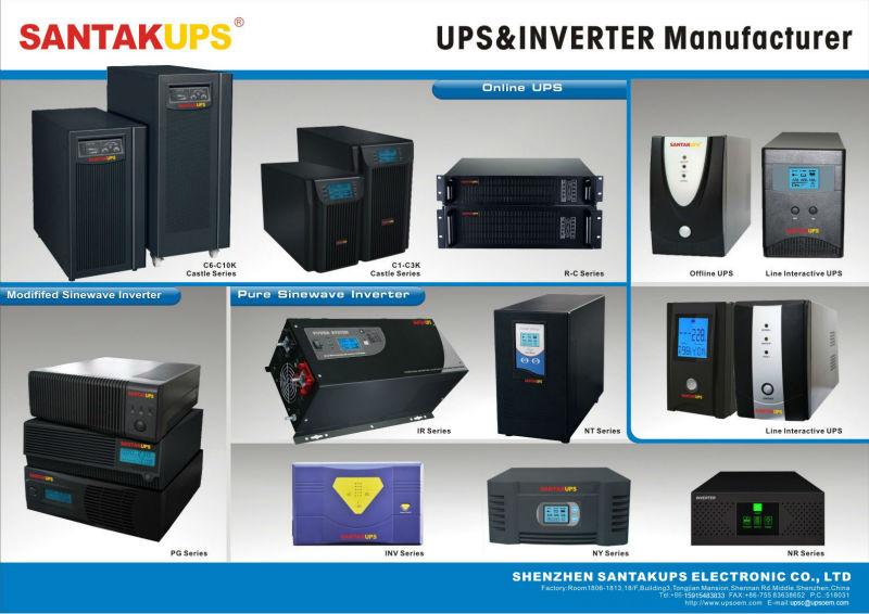 12v 24v 220v 600w 1000w inverter with battery charger