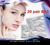 Маска для глаз 24pairs/lot Crystal Collagen wrinkle Eye Patch