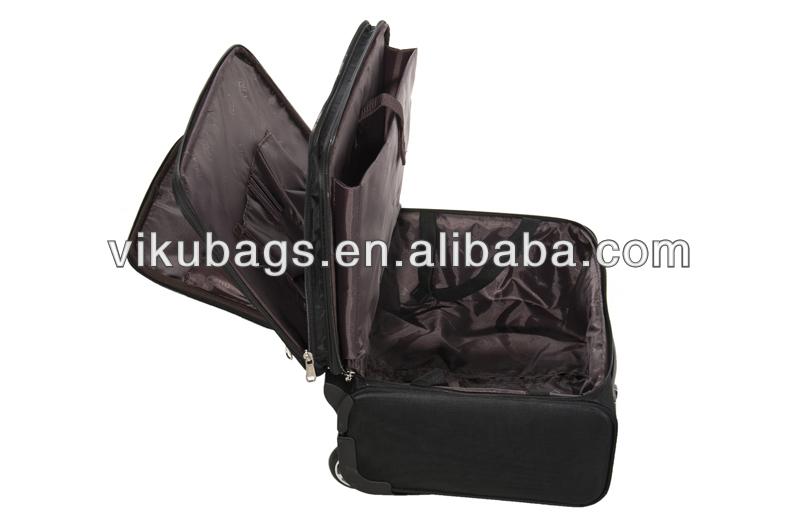 17inch trolley travel luggage bag set