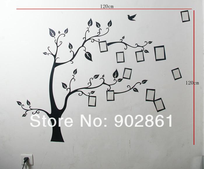 Дерево на стене своими руками трафарет