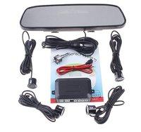 Автомобильная парковка датчик зеркало заднего вида 4 парковка датчики автомобиля резервного вспять радар зеркало заднего вида автомобиля система парковки