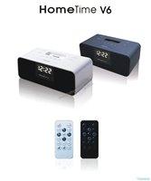 Премиум динамик для ipod nano apple iphone 3gs, iphone 4s, fm-радио + сигнализация + будильник + спикер + ЖК-дисплей + пульт дистанционного управления