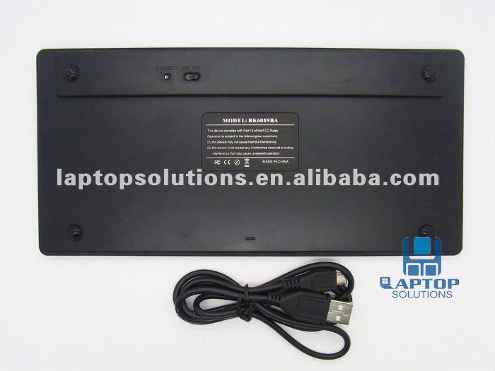 Mini Bluetooth Wireless Keyboard BK6089BA For iPad/iPhone And Mac