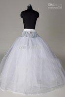Wholesale - New Arrival 2012 I003 Modern White Ball Gown Floor Length inner Petticoat/Wedding Dress Petticoat
