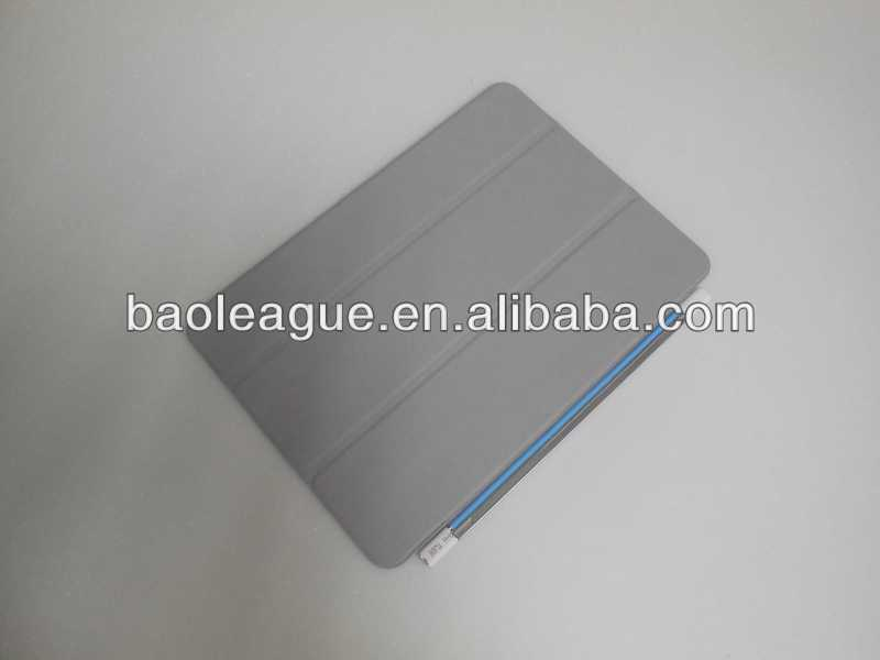 Leather case cover for ipad air, For ipad 5 smart cover