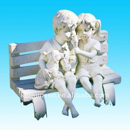 Hotsale resin garden statue children figurine buy resin - Figurine de jardin ...