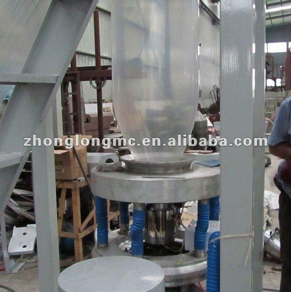 Shink packing film blowing machine