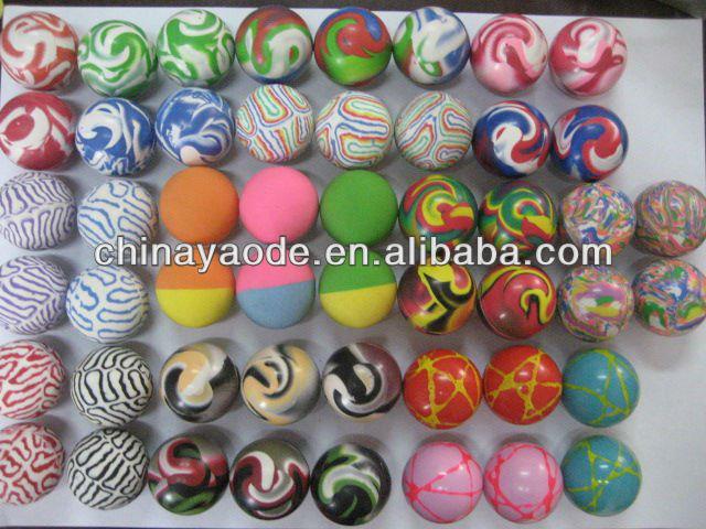 EN71 certified bouncy vending machine balls