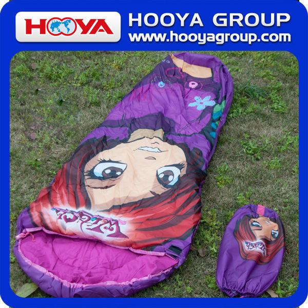 Mummy warm sleeping bag for adult