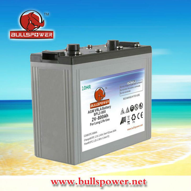 Long life solar battery 2v800ah,battery for off-grid solar system