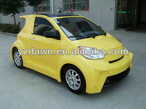 2013 New 4 wheel solar electric motorcycle/smart car DLES1001 4 seats for sale