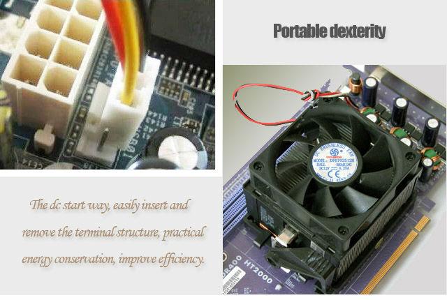 Innovation 12v 24v Electric Motor Cooling Fan