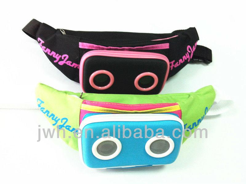 portable amplifier waist speaker bag for outdoor travelling