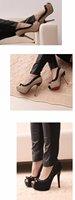 Туфли на высоком каблуке groggery 4135